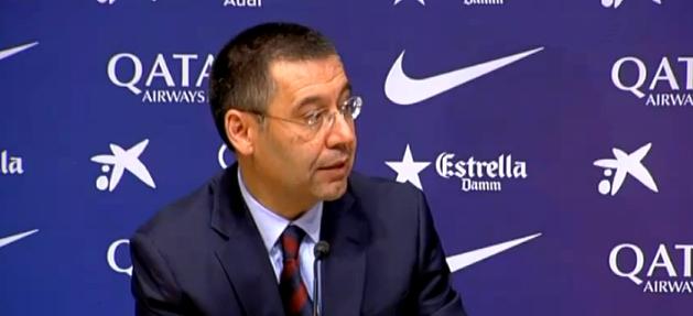 Bartomeu veut rester président - Fc-Barcelone.com