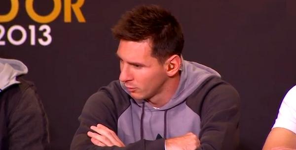 Messi: «Etre ici c'est déjà une récompense» - Fc-Barcelone.com
