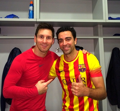 Xavi et Messi superstars - Fc-Barcelone.com