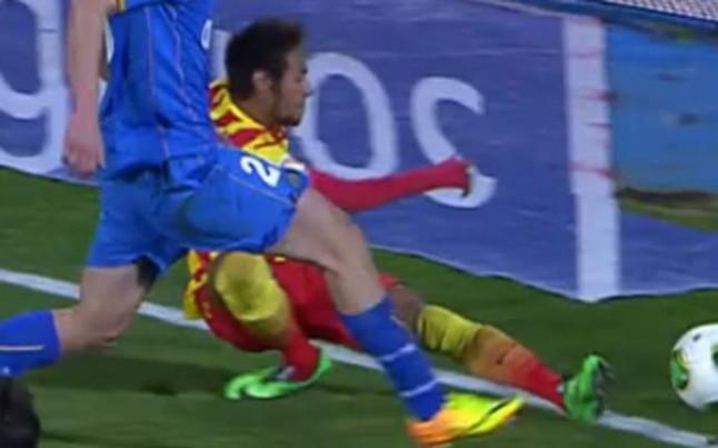 Neymar blessé à la cheville droite - Fc-Barcelone.com