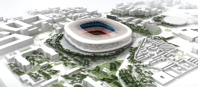 La rénovation du Camp Nou en marche - Fc-Barcelone.com