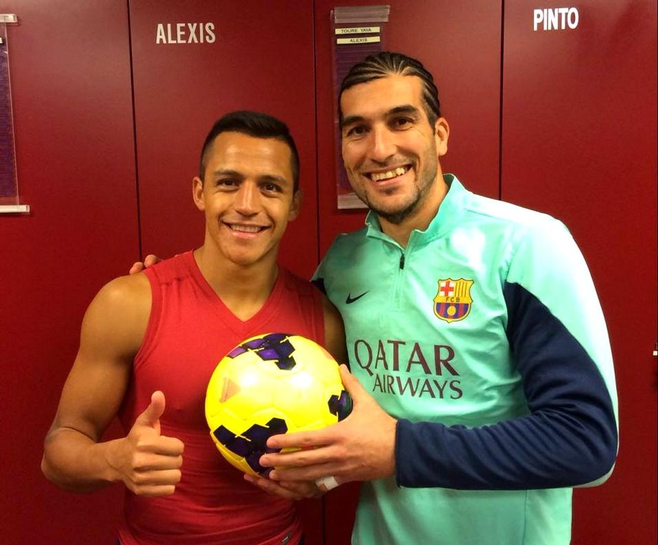 Hat-trick d'Alexis - Fc-Barcelone.com