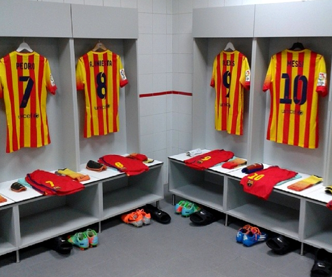 Le groupe pour Paris - Fc-Barcelone.com