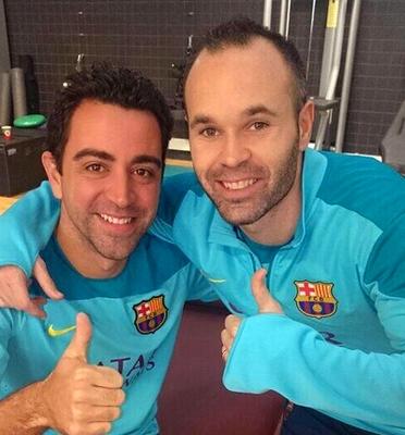 Dernier entraînement pour Xavi - Fc-Barcelone.com
