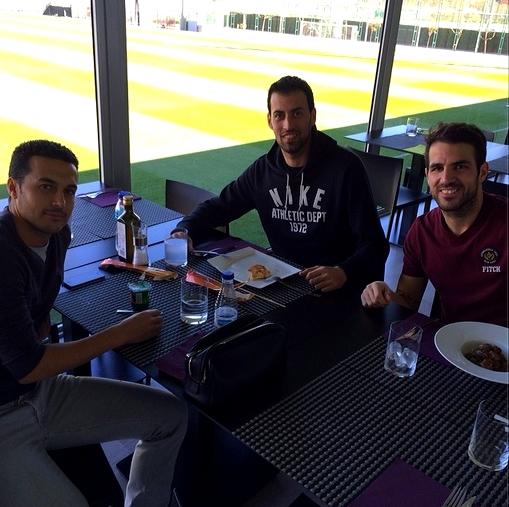 Les joueurs sont à Barcelone - Fc-Barcelone.com