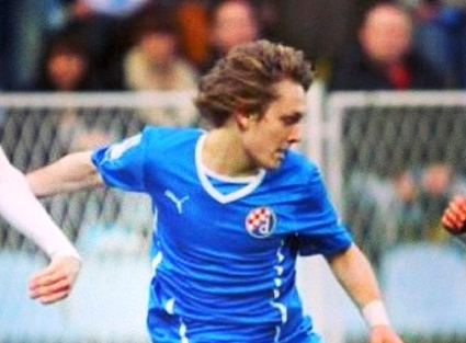 Halilovic en action - Fc-Barcelone.com