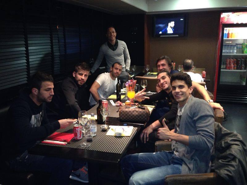 Satisfaction du vestiaire - Fc-Barcelone.com