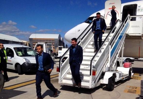 Les joueurs sont arrivés à Madrid - Fc-Barcelone.com
