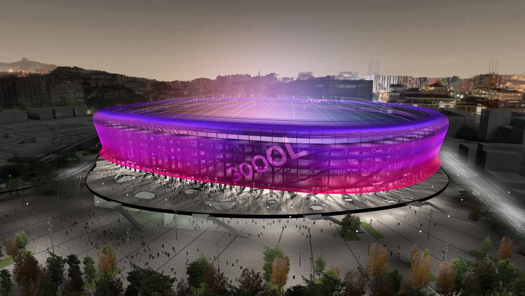 Le futur Camp Nou - Fc-Barcelone.com