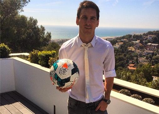 Messi célébré sur les réseaux sociaux - Fc-Barcelone.com