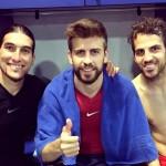 Piqué de retour contre l'Atlético - Fc-Barcelone.com