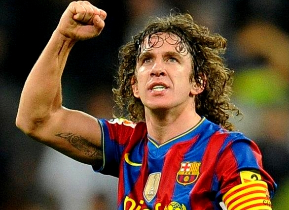 Le but de Puyol face au Real - Fc-Barcelone.com