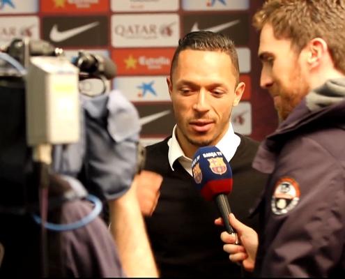 Adriano forfait contre l'Ajax - Fc-Barcelone.com