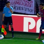 Alves a la banane - Fc-Barcelone.com