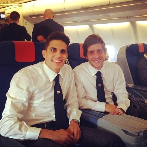 Les joueurs sont à Valence - Fc-Barcelone.com