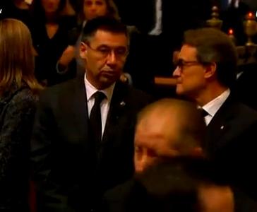 La cérémonie pour Tito - Fc-Barcelone.com