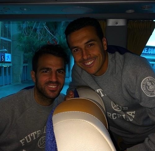 En route pour Madrid - Fc-Barcelone.com