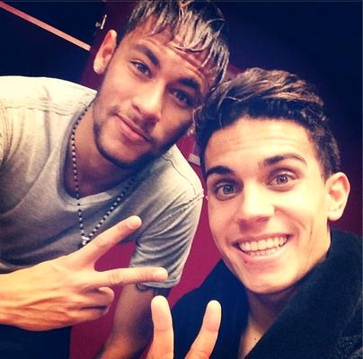 Neymar et Bartra satisfaits - Fc-Barcelone.com