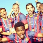 Youth League: Le Barça champion! - Fc-Barcelone.com