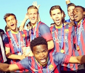 Youth League: Le Barça champion! - Fc-Barcelone.com