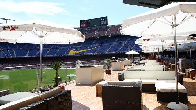 Un bar lounge au Camp Nou - Fc-Barcelone.com