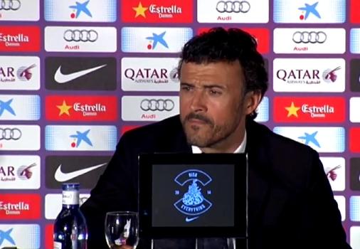 Luis Enrique : «Nous améliorer» - Fc-Barcelone.com
