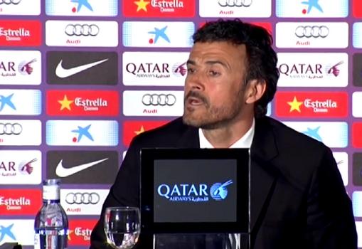 Luis Enrique : «Ils travaillent dur» - Fc-Barcelone.com