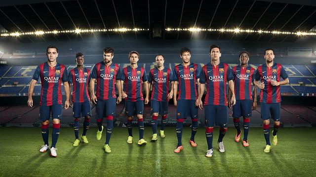 Les maillots 2014-2015 - Fc-Barcelone.com