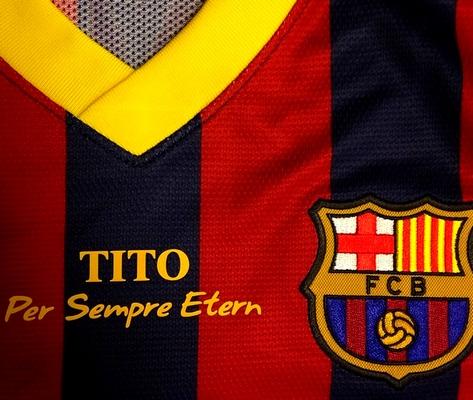 Le maillot pour Tito - Fc-Barcelone.com