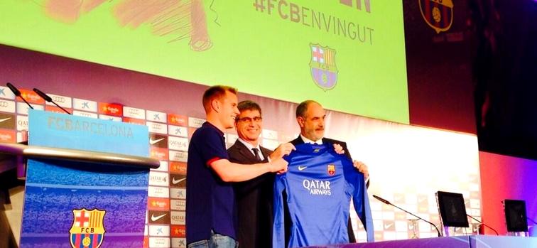 Ter Stegen a signé jusqu'en 2019 - Fc-Barcelone.com
