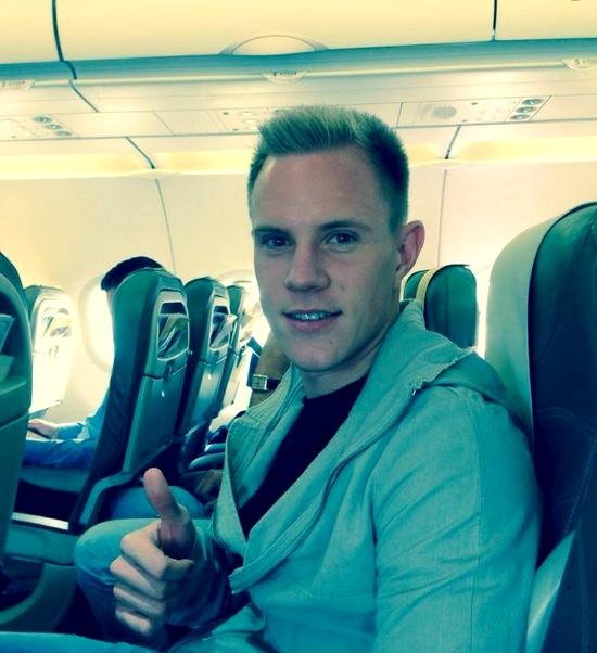 Ter Stegen arrive à Barcelone - Fc-Barcelone.com