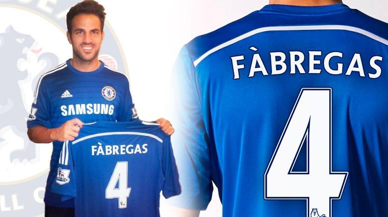 Cesc signe à Chelsea - Fc-Barcelone.com