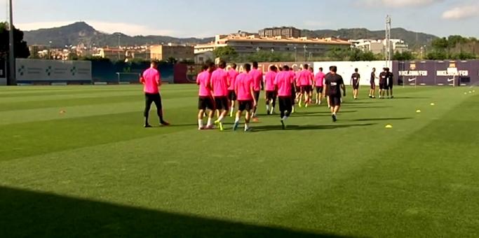 Le Barça poursuit sa préparation - Fc-Barcelone.com