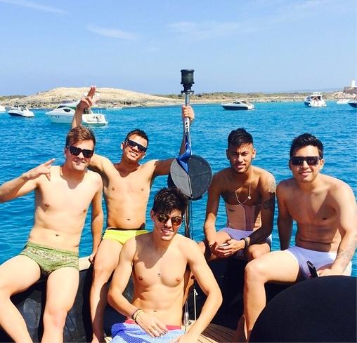 Neymar en vacances - Fc-Barcelone.com