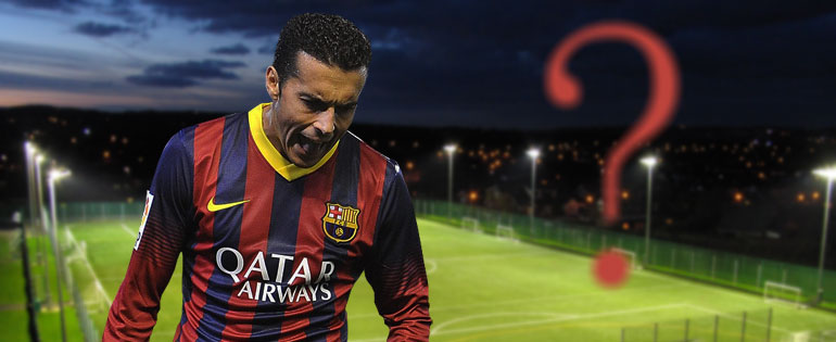 Pedro veut discuter - Fc-Barcelone.com