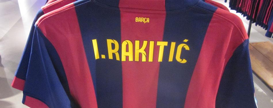 Rakitic : «Ecrire l'histoire» - Fc-Barcelone.com