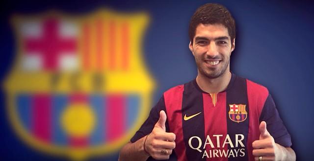 Luis Suarez titulaire ! - Fc-Barcelone.com
