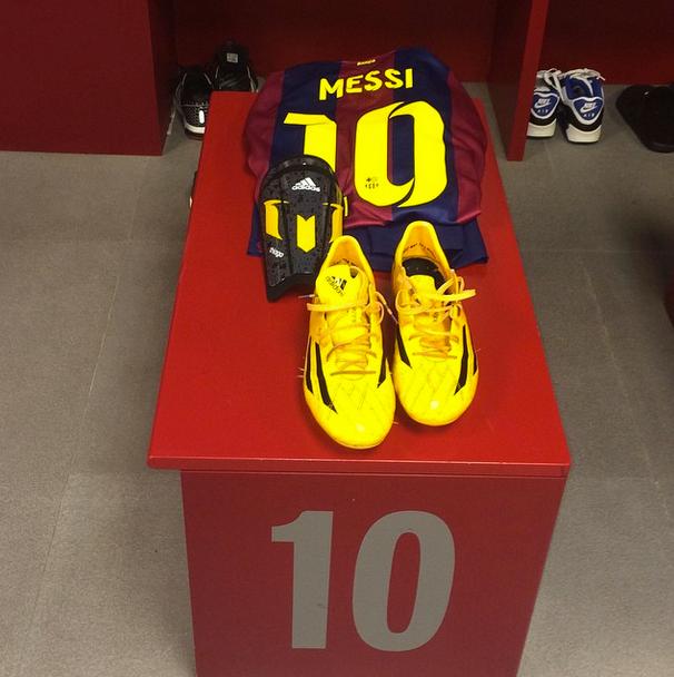 Messi à l'entraînement - Fc-Barcelone.com