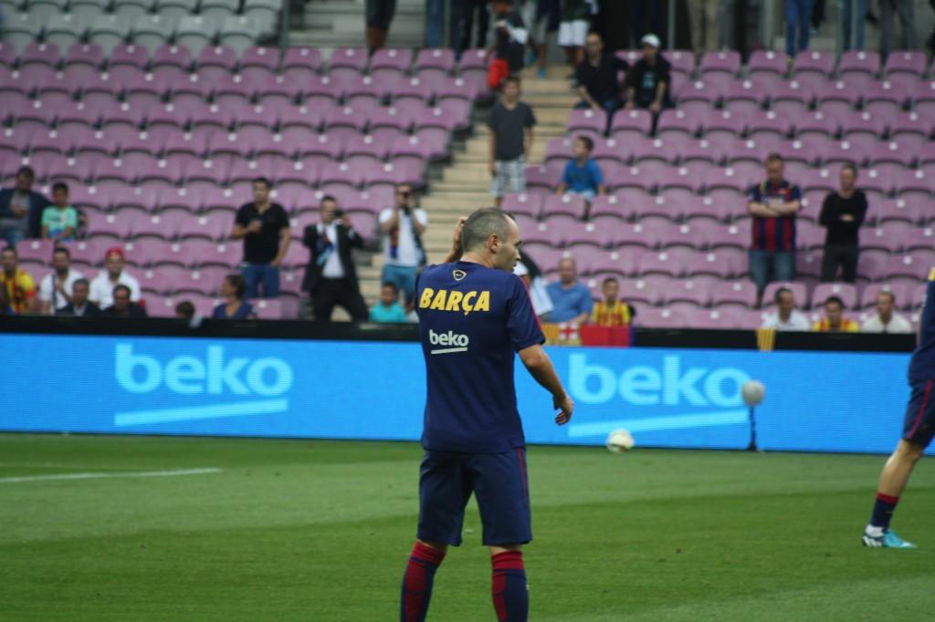 Iniesta légèrement blessé - Fc-Barcelone.com