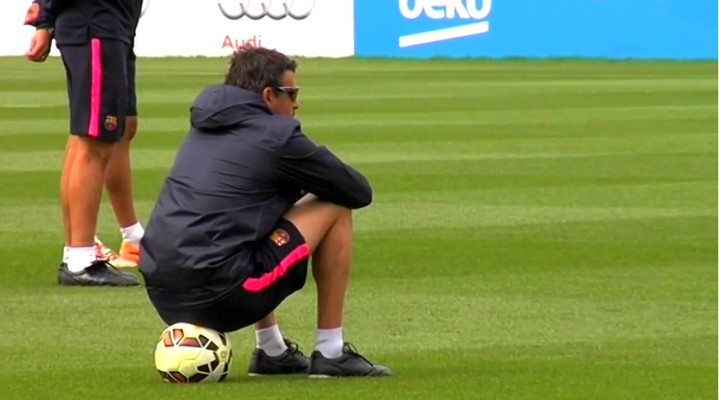 FC Barcelone: Messi dit au revoir et merci à Luis Enrique