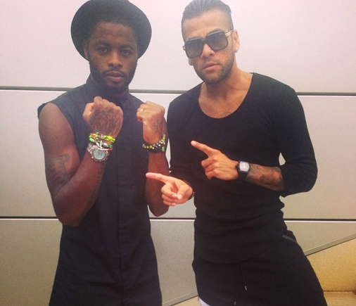 Song et Alves très bling-bling - Fc-Barcelone.com