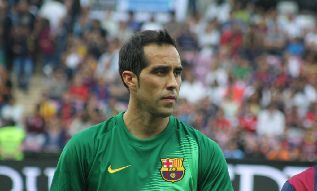 Bravo absent 15 jours - Fc-Barcelone.com