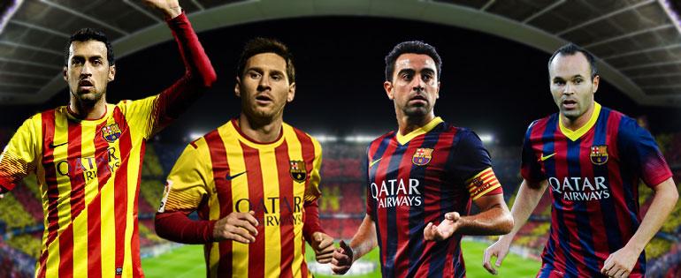 Les 4 capitaines du Barça - Fc-Barcelone.com