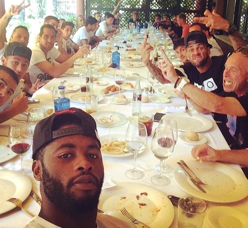 Déjeuner d'équipe - Fc-Barcelone.com