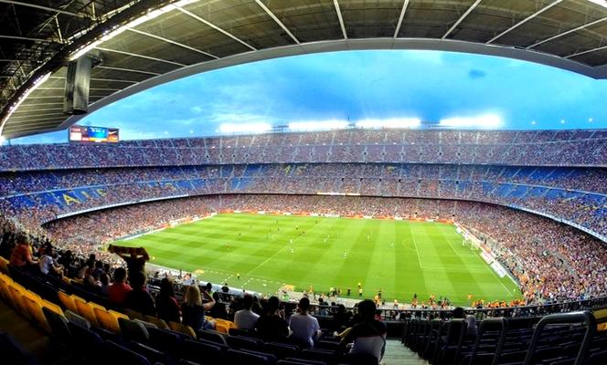 Fête réussie au Camp Nou - Fc-Barcelone.com