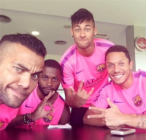 Prêts pour l'entraînement - Fc-Barcelone.com