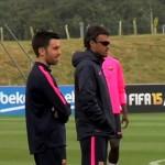 L'équipe presque au complet - Fc-Barcelone.com