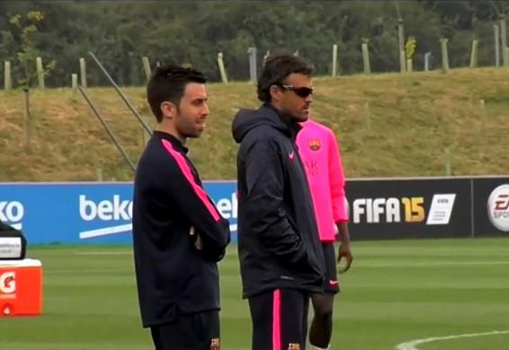 Les entraînements continuent - Fc-Barcelone.com