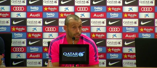 Mascherano, l'indispensable - Fc-Barcelone.com