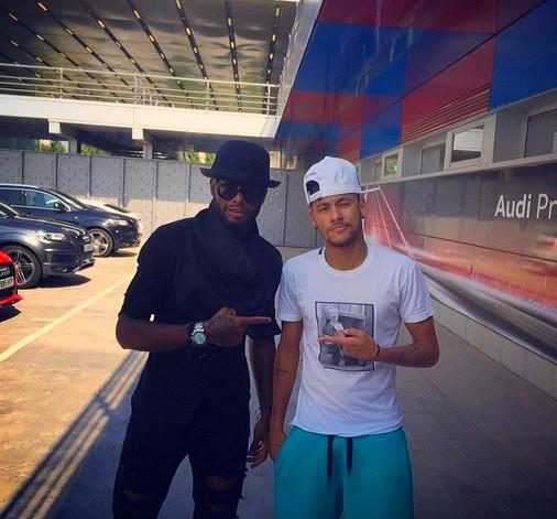 Neymar reprend le travail - Fc-Barcelone.com